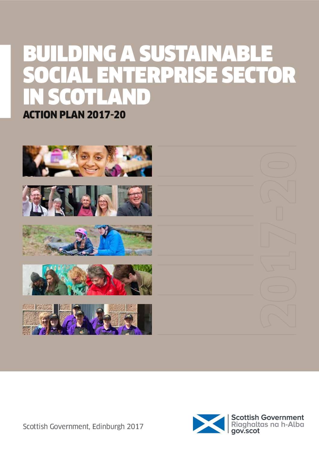 Scotland's first 3-Year Social Enterprise Action Plan