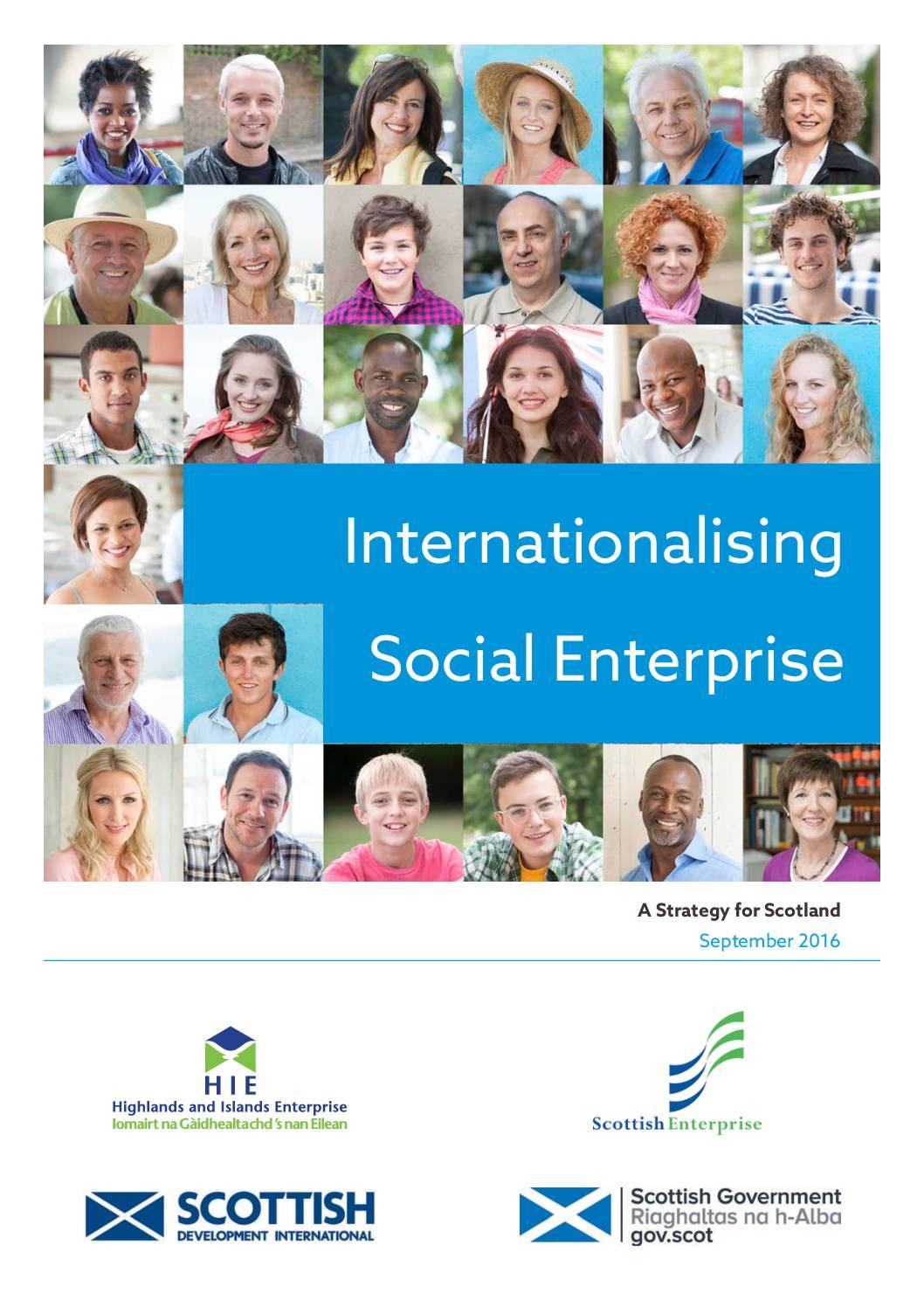 Internationalising Social Enterprise in Scotland