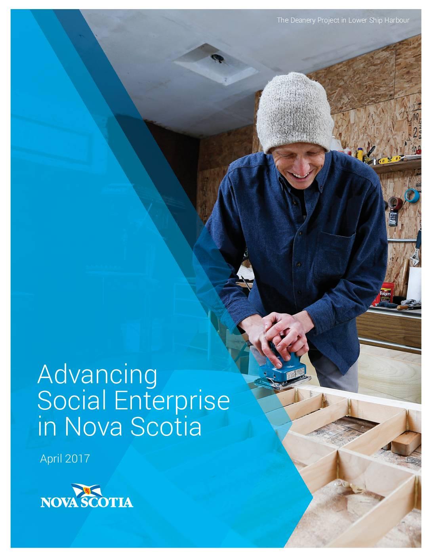 Nova Scotia's Social Enterprise Framework