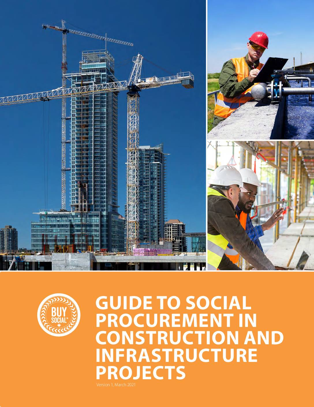 Buy Social Canada Guide to Social Procurement in Construction and Infrastructure Projects