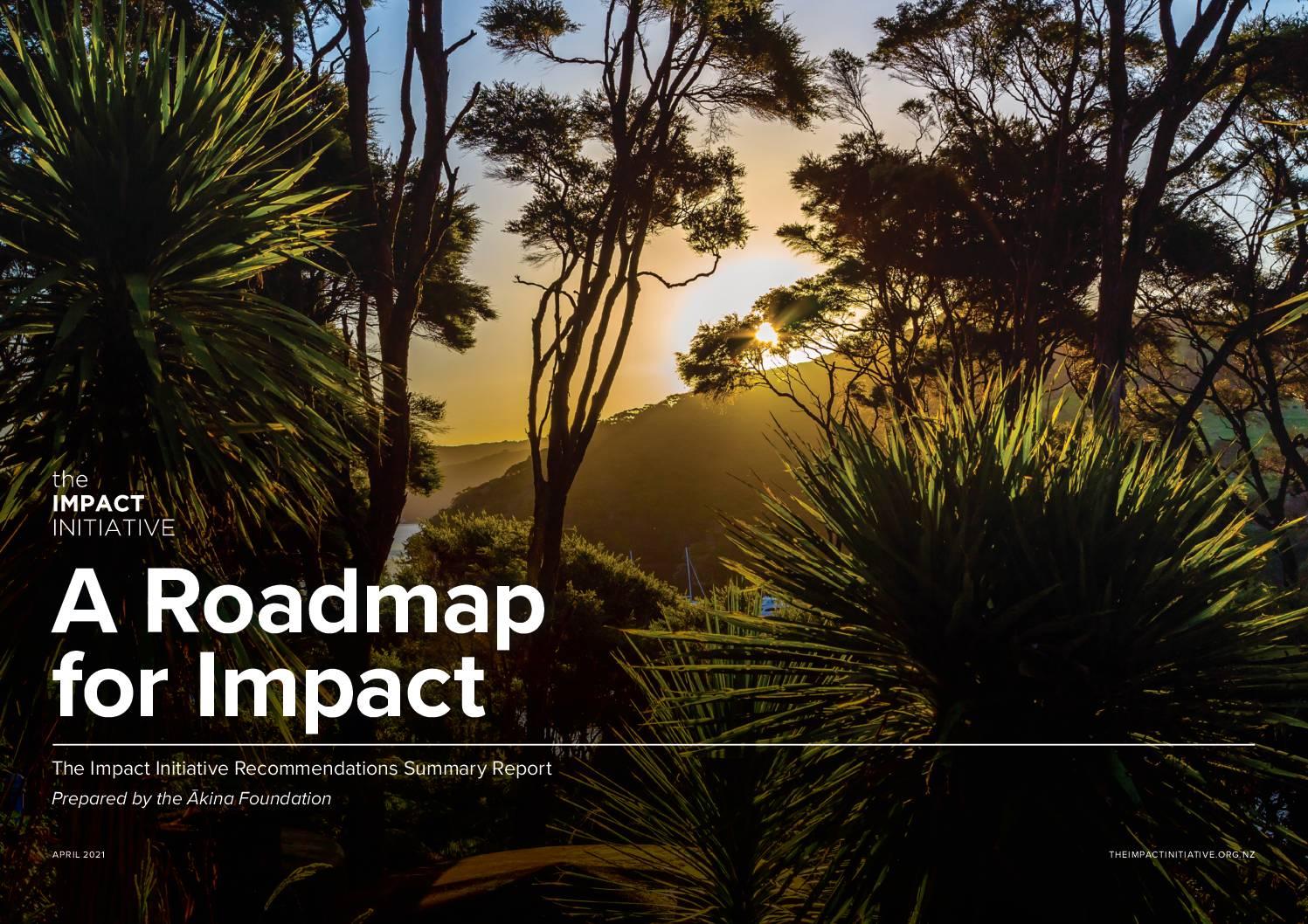 Roadmap for Impact
