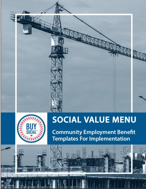 Community Employment Benefit: Templates for implementation