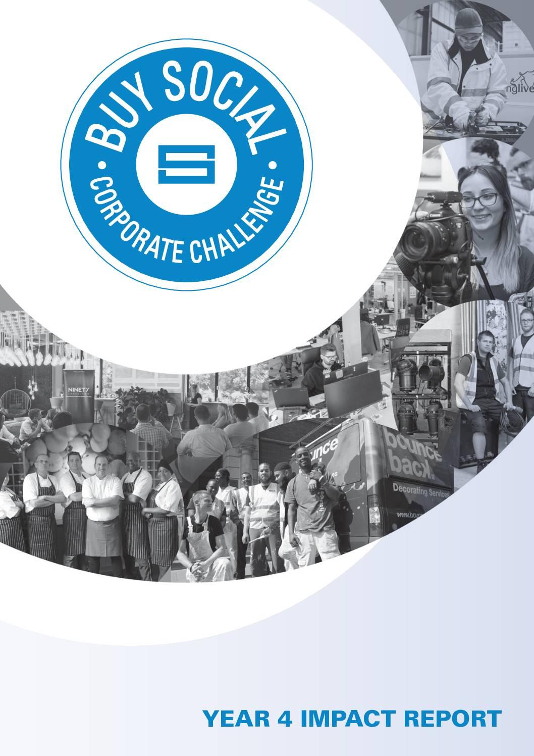 Buy Social Corporate Challenge – Year 4 Impact Report