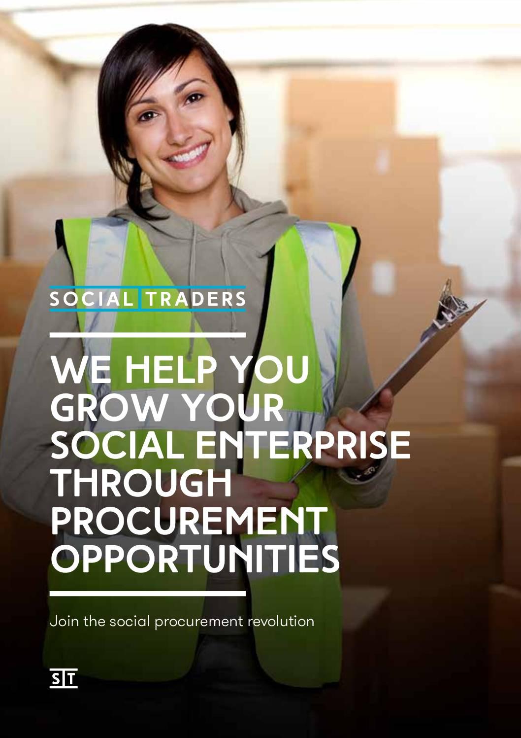 Social Procurement: Social Enterprise Benefits