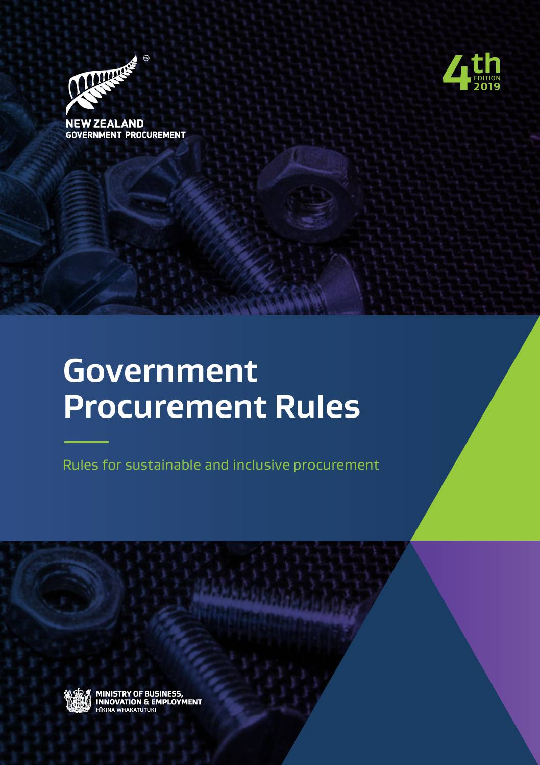 New Zealand's Government Procurement Rules